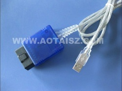 OBDII J1962 USB Diagnostic Cable