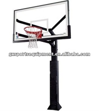 Inground spray steel pipe basketball hoops/stand