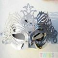 argento corona mardi gras costume mascherata veneziana palla partito maschera
