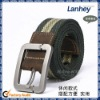 Hot Selling Colorful stripe belt Cotton Belt canvas belt