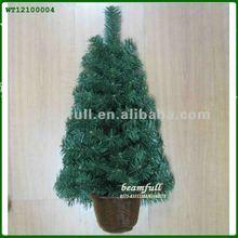 Artificial Wall Mounted Half Christmas Tree