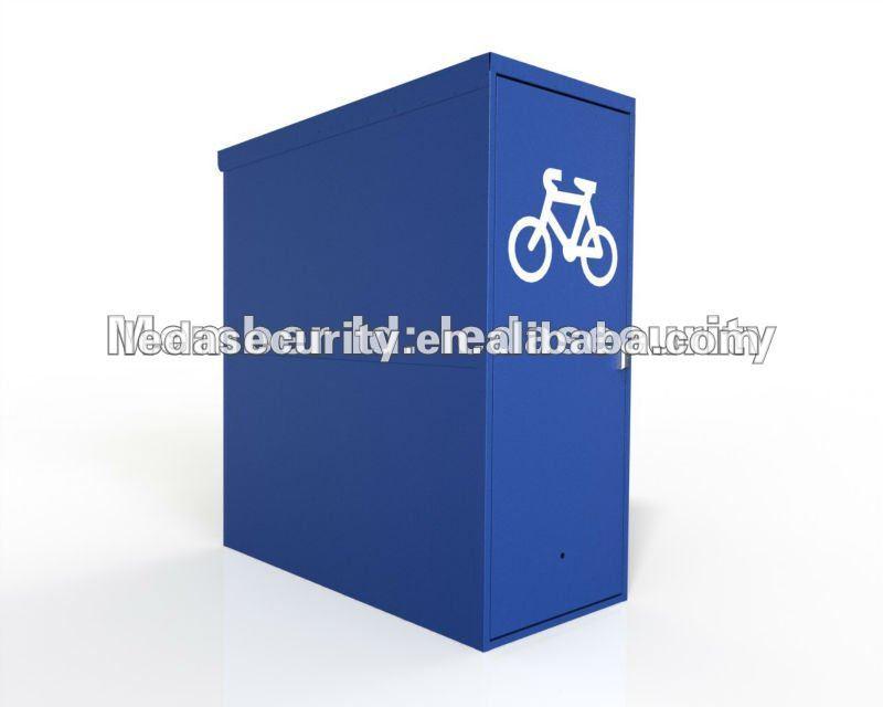 Vertical Bike Locker Vertical Steel Bike Storage
