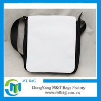 Hot sale fashion design fancy sublimation blank messenger bags
