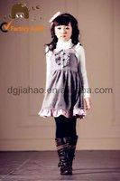 2012 fashion woolen sexy little girl winter birthday dress