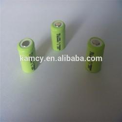 ni-mh battery 1/3 aaa 150mah rechargeable battery 1.2v