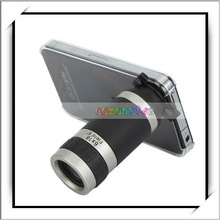 Wholesale! Black and Grey For iPhone 4G 6X Telescope Camera