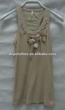 EU size beaded waistcoat for woman ,comfortable wear