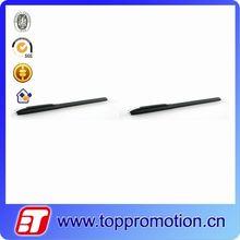 Black custom plastic gel ink pen