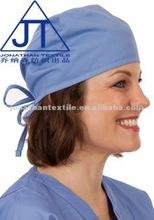 Enfermeira scrub bouffant cap / chapéus laços de volta