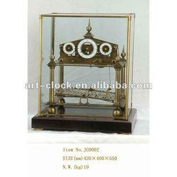 royal European brass antique dynamic craft table clock