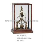 royal European brass antique a craft table clock