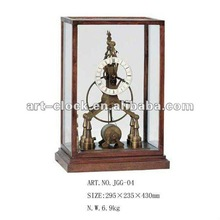 royal European brass antique a craft table clock