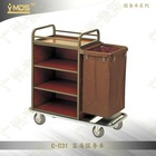 C-031 Hotel Room Service Cart Trolley,Housekeeping Cleaning Equipments