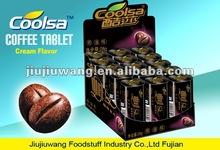 Coolsa 28g strong mint black hard coffee