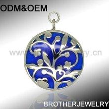 2012 latest enamel charm, fashion pattern charm design