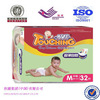 New born cheap price disposable baby diapers,VELCRO tape and elastic band
