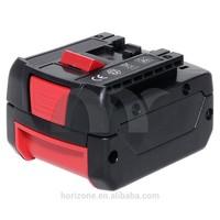 Replacement Power tool battery for BOSCH GDR 14.4 V-LI BAT607 14.4V 3.0 Ah LITHEON