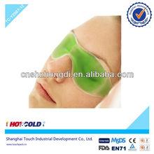 Large comfortable pvc cold gel eye mask for eye massage