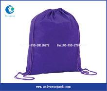 Custom reusable grocery backpack shopping bag