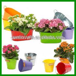 Promotional iron garden bucket