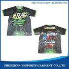 Custom Made Sublimation T Shirts