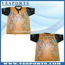 Wholesale Sublimation Short Sleeve Polo Shirts