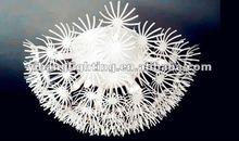 2012 modern design ceiling lamp , alluminum dandelion C168L