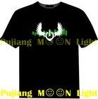 el sound activated clothes el light t-shirts