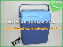2012 hot sell 24L DC 12V mini car fridge freezer cooler box