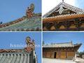 Chinês antigo argila telhas