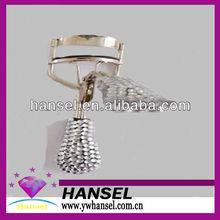 metal bling crystal rhinestone tweezers eyelash curler made of stainless steel