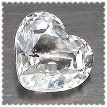 Sciolto abito da sposa& prezzo più basso colore bianco a forma di cuore cz gemma