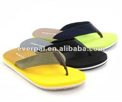 Men eva bright color house design flip flops 2013