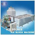 industrielle usine de glace bloc pour réduire la température