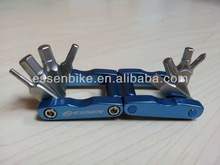 10 in 1 Mini alloy folding tools for bike