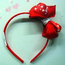 Red lovely hair band