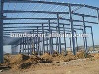 prefab house steel frame