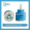 Amplamente aplicativo para cozinha/bacia/torneira do banheiro 35mm em marcha lenta duplo- seal baixo bacia torneira cartuchos