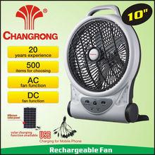 Modern style usha rechargeable fan