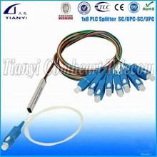 CE Certificate High Quality Fiber Optical Steel Tube Pon Splitter