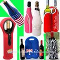 neopren 750ml şarap şişe soğutucusu i neoprenetwo duble şarap şişe soğutucusu tutucusu i neopren şarap şişesi çantası
