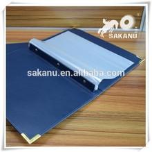 A4 A5 PU/PVC/leather menu folder,cookbook,multi-function docunments padfolio,customized LOGO&size&material