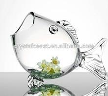 clear glass aquarium decorative fish bowl