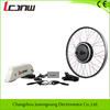 JNW23 350W-1500w brushless gear motor(36v/48v,noise is less than 60db,Disc brake) ebike conversion kit with battery(rear),normal