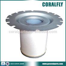 0.1um high precision 99.99% fiberglass material air compressor filter , 1622646000 air oil separator