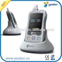 CE approved OLED display SPO2 PR oximeter color handheld pulse oximeter