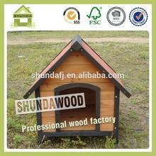 SDD08 Chinese fir wood dog kennel building
