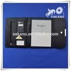 A4 size PU leather promotion cheap portfolio folder , document bag.