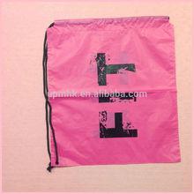 One-Use Waterproof Draw String Plastic Bag