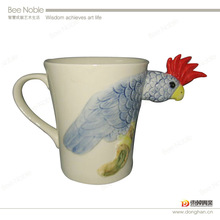 factory wholesale ceramic animal 3D cup